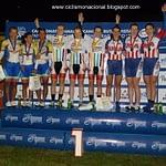 Dr Vie Laura Brown Steph Roorda Pan Am team pursuit 2012 podium