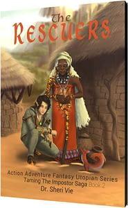 action adventure fantasy Utopian series Book 2 by Dr. Vie