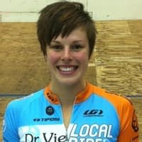 Dr Vie athlete Gillian Carleton London Olympics 2012 Canadian Womens Track Team