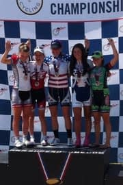 Dr Vie Tara McCormick 5 gold medals junior track usa nationals 2011