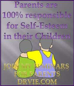 Parenting techniques-for building self-esteem in childhood, seminars by Dr. Vie