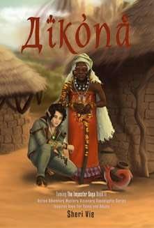 Aikona Sheri Vie action adventure fantasy mystery visionary utopian dystopian apocalyptic Book2