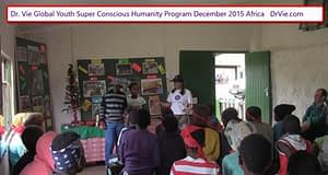 Dr. Vie Super Conscious Humanity Youth Camp Africa Nature Reserve Ages 6 to 12