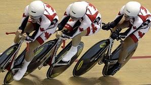 Dr Vie Team Pursuit Gold Pan Am Games  2011