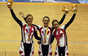 Dr Vie Laura Brown Steph Roorda Jasmin Glaesser Pan Am Games Gold Team Pursuit 2011