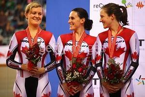 Dr. Vie Team Pursuit Beijing Silver Medal 22 January 2011