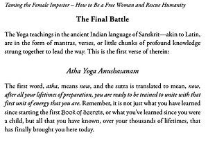 Yoga-Self-Realization-from Taming-The-Female-Impostor-Dr-Vie