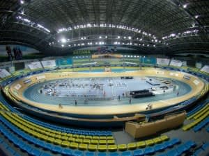 Dr Vie Superfoods Astana UCI race track