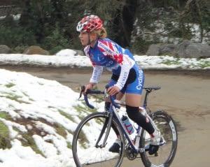 Dr Vie Jasmine Glasser alternate rider on Team Pursuit