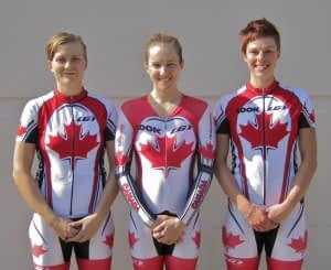 Dr Vie Canadian Womens Cycling Team 2012