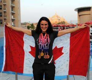 Dr. Vie Superfoods Tara Whitten World Champion Track Omnium
