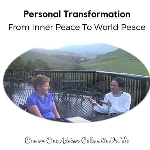 Personal transformation with Dr.Vie