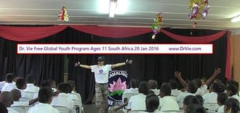 Dr. Vie Free Power Of Youth program in schools Jan, 2016