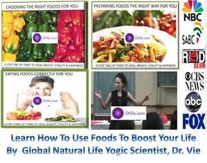 Dr. Vie food scientists secrets to boost life