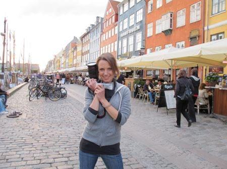 TV Host Heidi with Dr. Vie Superfoods in Denmark