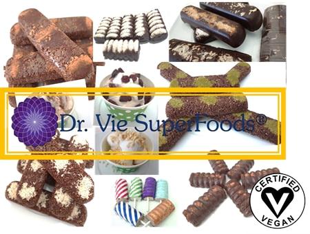 Dr Vie Superfoods raw vegan gluten free breakfast snacks dessert ice cream uber eats