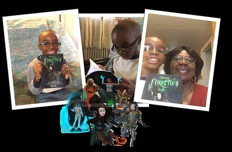 Dance of Fireflies fantasy action adventure utopian fiction Chad Sheri Vie Lena McCalla Njee