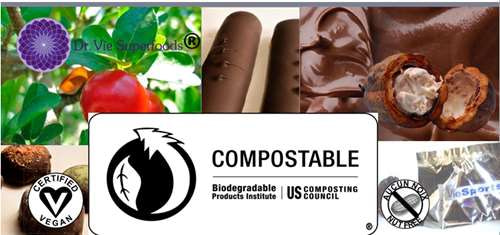 Dr. Vie SuperFoods vegan raw gluten-free compostable bags 2000
