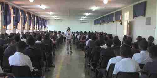 Dr. Vie free global youth program Inspiring 300 students in grade 11 to live blissfully
