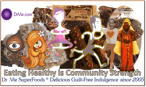 Dr. Vie Superfoods healthy foods sugar free delicious chocolate family