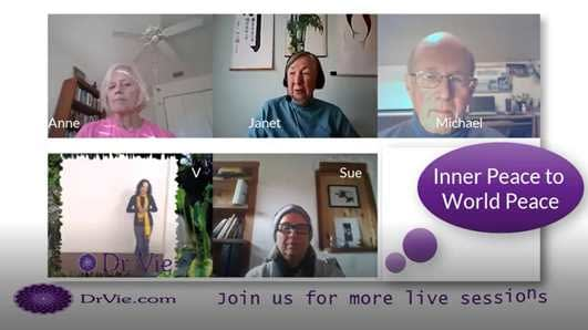Expanding consciousness with Dr. Vie and team
